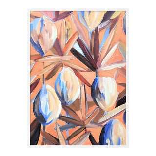 Lyford 1 by Lulu DK in White Framed Paper, Small Art Print For Sale
