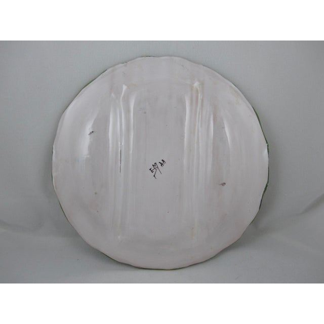 Ceramic French Martres TolosaneFaïence Asparagus Service, S/10 For Sale - Image 7 of 10
