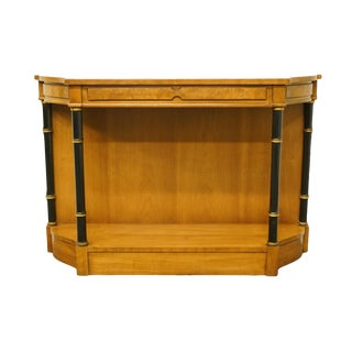 1960s Traditional Drexel Heritage Repertoire Collection Entryway Accent/Console Table For Sale