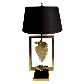 Vintage Maison Lancel Paris Table Lamp For Sale