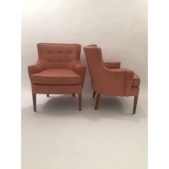 Italian Mid-Century Curved Arm Chairs - A Pair - Image 3 of 11