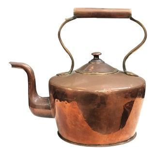 Oversized Copper Tea Kettle For Sale
