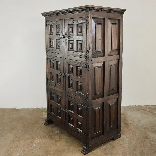 Mediterranean 19th Century Spanish Cabinet For Sale - Image 3 of 13
