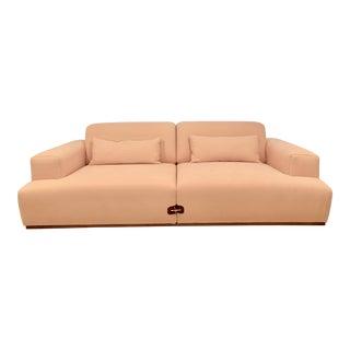 Modern Bosc Duffle Millennial Pink Sofa For Sale