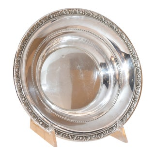 """Reed and Barton """"Medici"""" Sterling Bowl, Circa 1940 For Sale"""