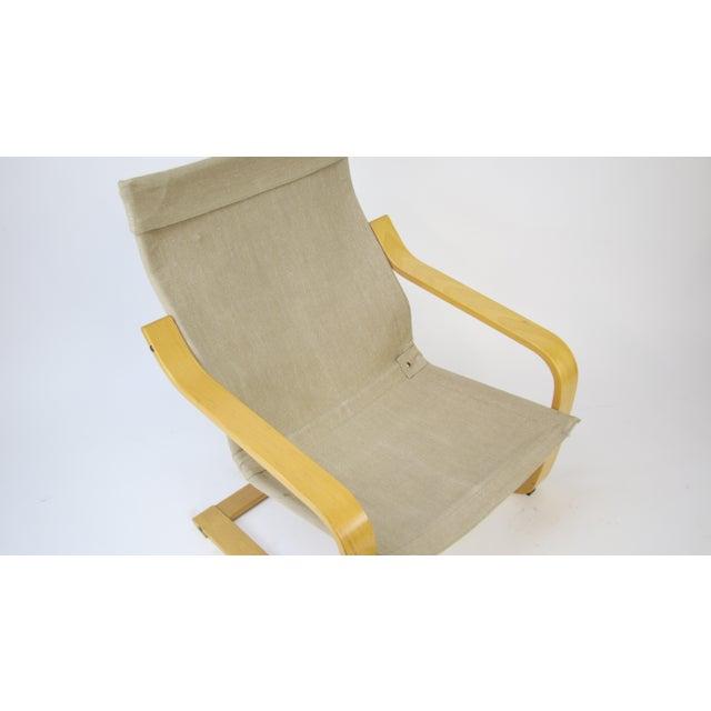 1970s Original Noburu Nakamura for Ikea Poem Chair For Sale - Image 9 of 9