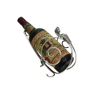 Art Deco Wine Caddy W/ Match Striker For Sale