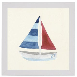 "Sailboat No. 27 - 20"" X 20"" For Sale"