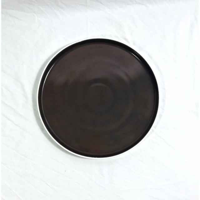 Block Chromatics Dinner Plates, Set of 7 For Sale In Raleigh - Image 6 of 9