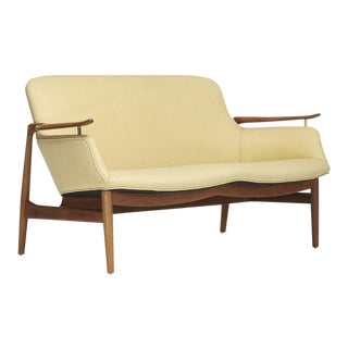 Finn Juhl Settee for Niels Vodder For Sale