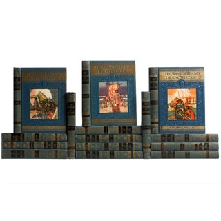 Children's Vintage Reference Library - Set of 15