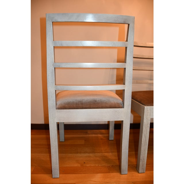 Hickory Chair Furniture Company Thomas O'Brien Dara Ladder Back Dining Chairs - Set of 4 For Sale - Image 4 of 6