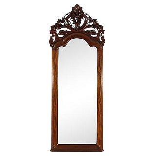 19th-C. Colonial Pier Mirror For Sale