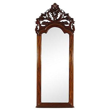 19th-C. Colonial Pier Mirror - Image 1 of 5