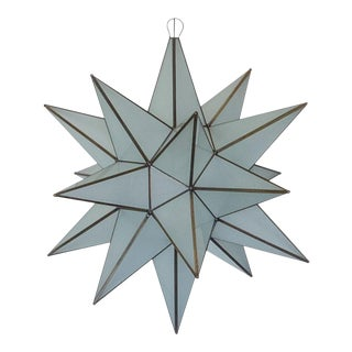 Mexican Handmade Extra Large Star Light - Frosted