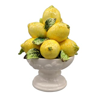 Vintage Italian Lemon Topiary For Sale