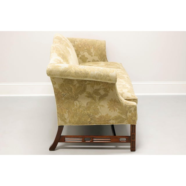 Chippendale Southwood Camelback Chippendale Style Sofa For Sale - Image 3 of 13