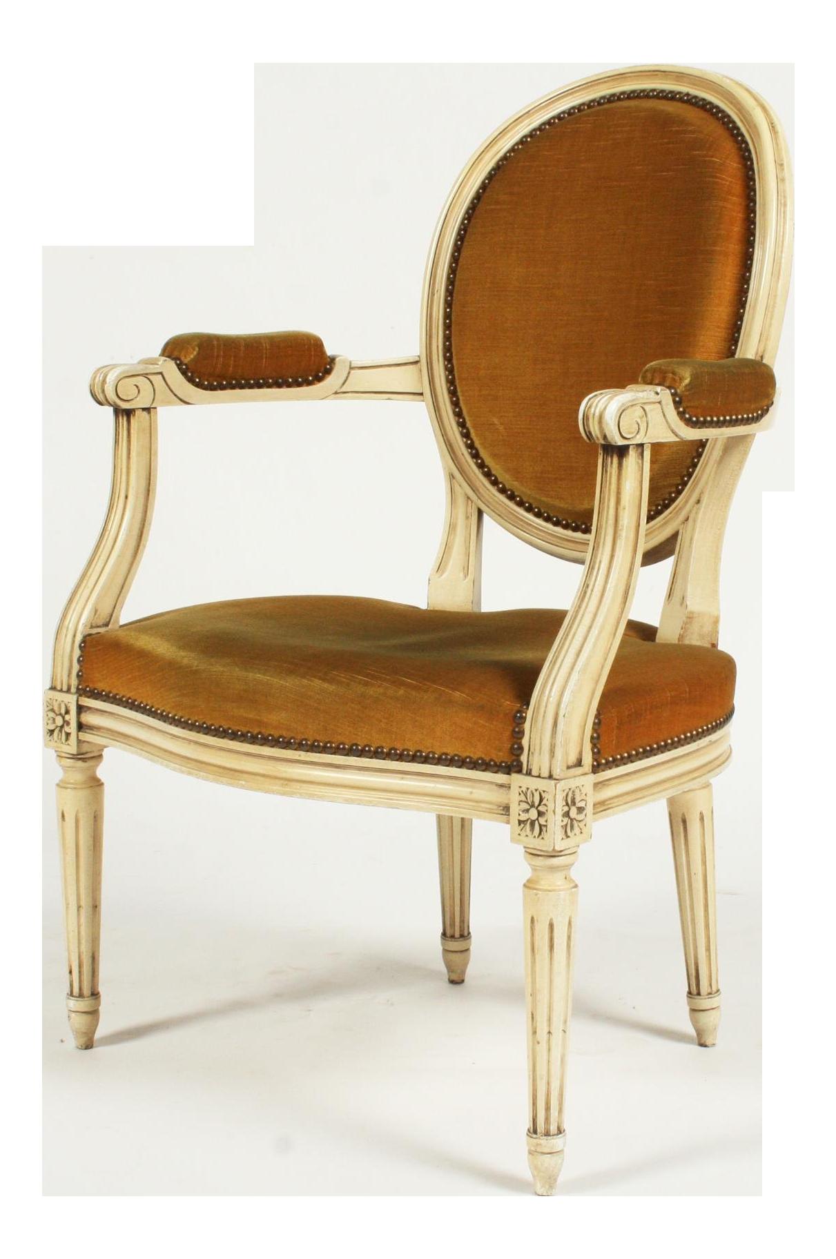 Vintage Louis XVI Style Armchair
