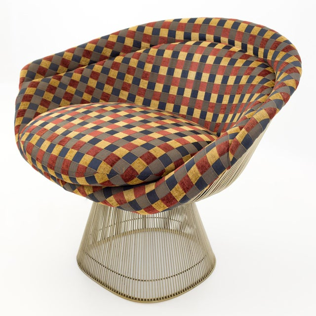 Mid-Century Modern Warren Platner Mid Century Modern Lounge Chair For Sale - Image 3 of 8