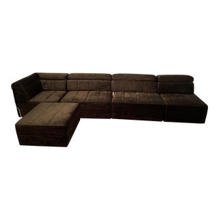 1960s Vintage Modular Sectional For Sale