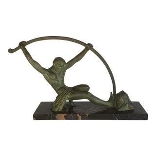 Art Deco 1930 D.H. Chiparus Bronze Sculpture