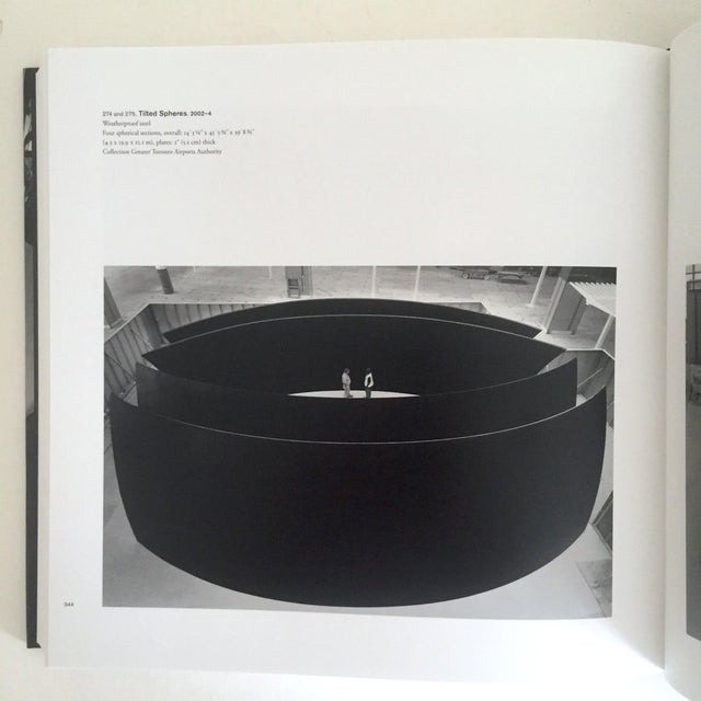 """Contemporary """"Richard Serra Sculpture : Forty Years """" Rare Moma Exhibition Hardcover 1st Edtn Book For Sale - Image 3 of 10"""