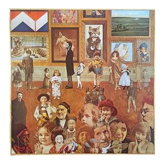 "Peter Blake Rare Vintage 1979 Dumont Art Calendar Lithograph Print Pop Art Poster "" Academy "" 1975 For Sale"