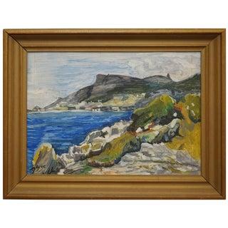 Mediterranean Seascape For Sale