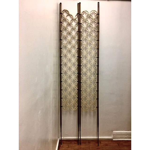 Mid-Century Modern Room Divider Panels - a Pair For Sale - Image 13 of 13