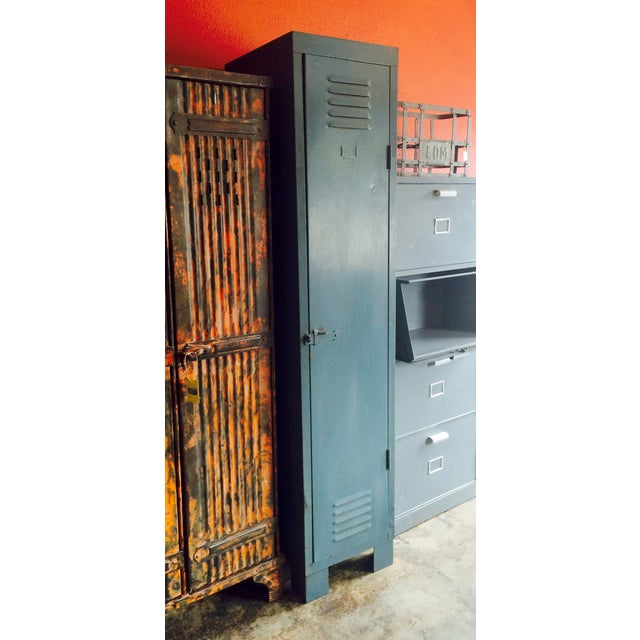 French Vintage 1 Door Locker - Image 3 of 7