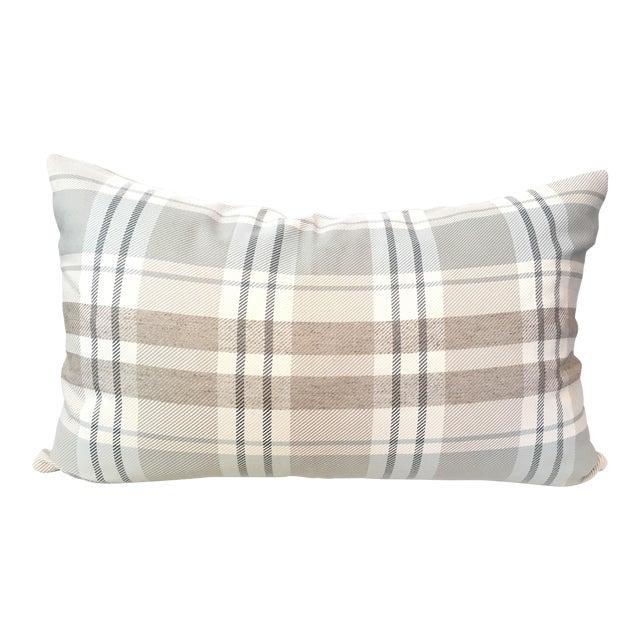 Designer Plaid Pillow Cover - Image 1 of 3