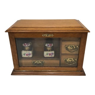 20th Century English Stationary Box For Sale