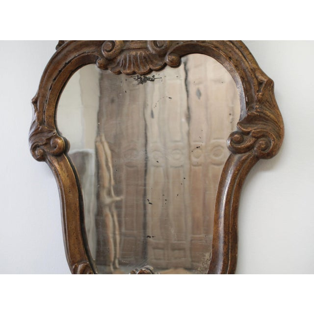 Late 19th Century 19th Century Italian Giltwood Mirror For Sale - Image 5 of 7