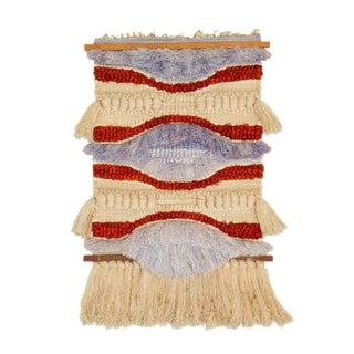 California Fiber Arts Wall Hanging by Margo O'Connor For Sale
