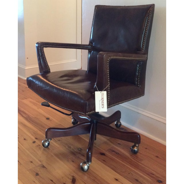 Hooker Furniture Wingate Executive Chair Brand new with tags Original Price: $1,399.00 Handsome vintage-style executive...