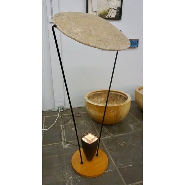 """Black """"Control"""" Floor Lamp by Mitchell Bobrick For Sale - Image 8 of 9"""