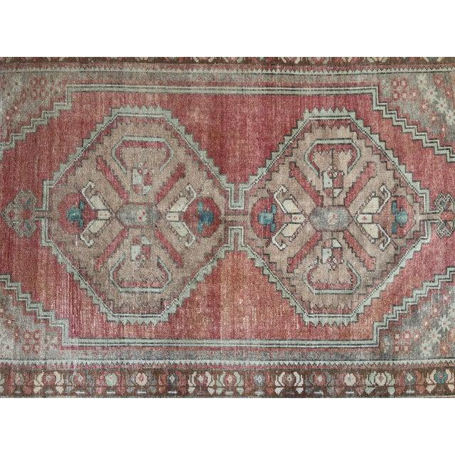 Orange Oushak Handmade Distressed Antique Floor Carpet For Sale - Image 8 of 11