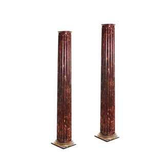 Antique Victorian San Francisco Columns - A Pair For Sale