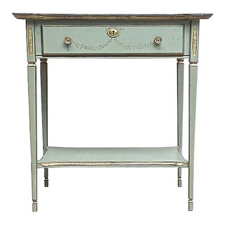 1900s Traditional Sheraton-Style Nightstand For Sale