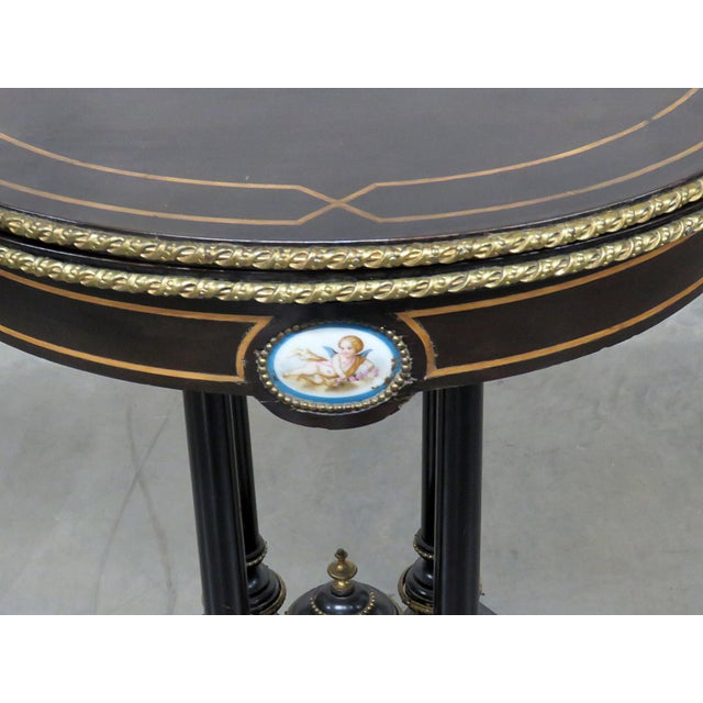 Louis Philippe Louis Philippe Flip Top Card Table For Sale - Image 4 of 10