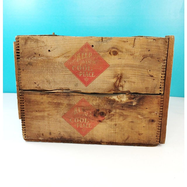 Vintage Arm & Hammer Soda Wood Shipping Crate - Image 4 of 7