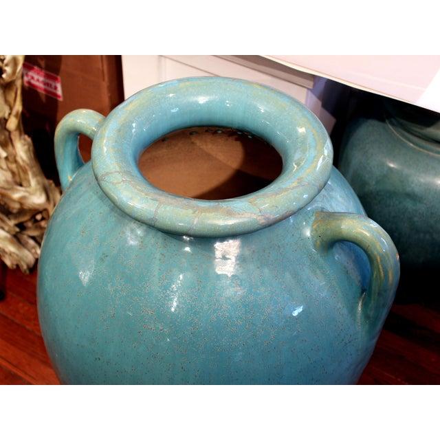 Art Deco Antique Galloway Terracotta Ceramic Art Deco Pottery Garden Urn For Sale - Image 3 of 7