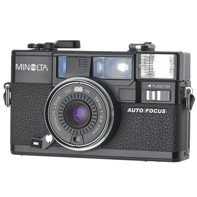 Vintage Minolta Hi-Matic AF2 35mm Camera - Image 3 of 3