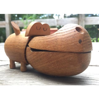 Zoo Line Wooden Hippopotomus Box Preview