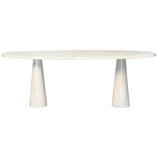 1960s Console in Carrara Marble by Angelo Mangiarotti For Sale - Image 5 of 5
