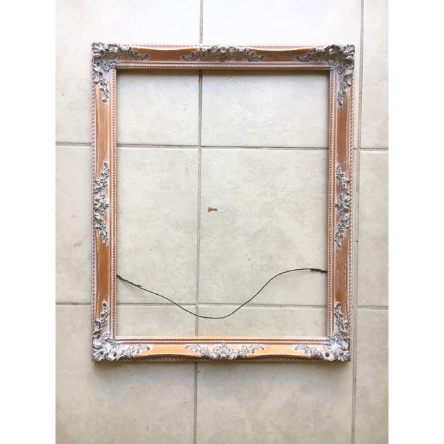 Baroque Filigree Wooden Art Frame   Chairish