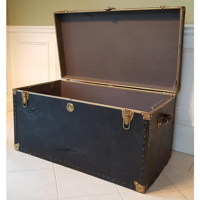 Vintage Extra Large Trunk - Image 3 of 11