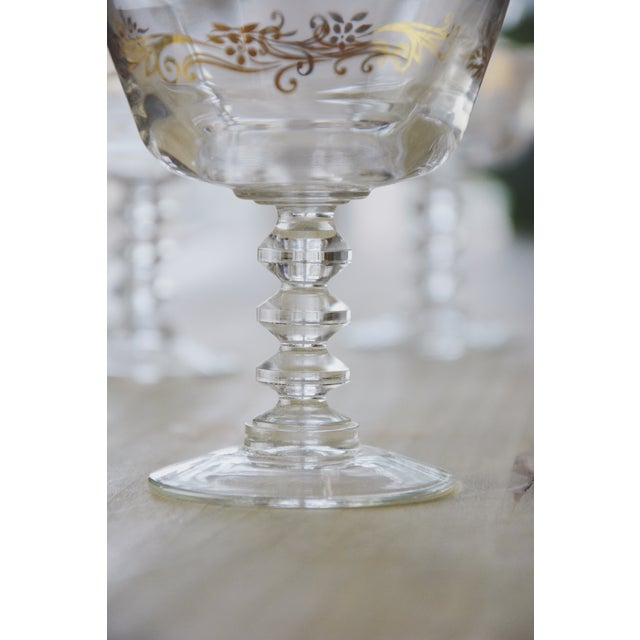 Golden Filigree Goblets - Set of 4 For Sale - Image 6 of 6