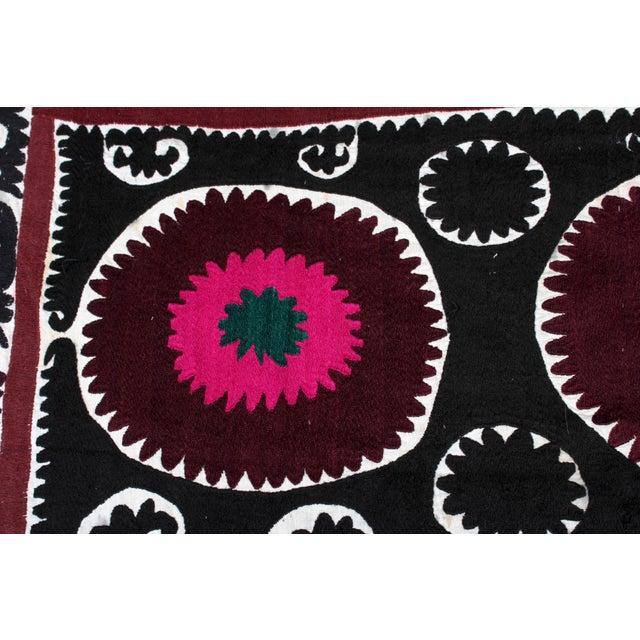 Embroidered Vintage Prayer Suzani - Image 3 of 7