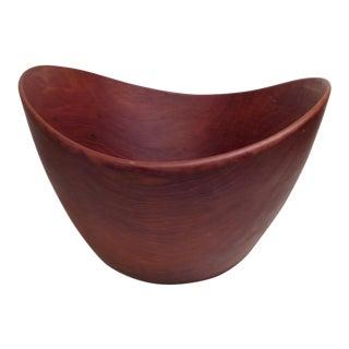Mid Century Large Teak Bowl